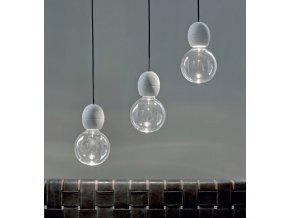 Žárovka Ghost LED Globe čirá 12,5 cm