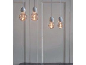 Stmívatelná žárovka Out Of Shape LED 9,5 cm