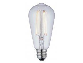 Stmívatelná žárovka Drop Extra De Luxe LED 6,4 cm