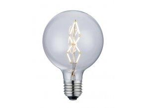 Stmívatelná žárovka Mini Globe De Luxe LED 8 cm