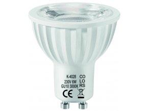 Stmívatelná žárovka LED GU10 Dimm 3-step 6W