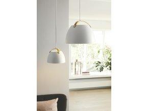 Stropní lampa Oslo bílá