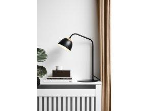 Stolní lampa Oslo černá