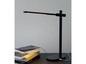 Stolní lampa Office Adjust Light černá