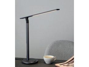 Stolní lampa Office Ideal Light šedá