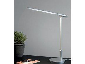 Stolní lampa Office Link Light stříbrná