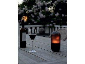 Lampa Colors New Flame černá