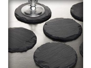slate coasters candle holders