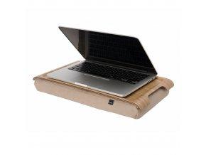 Mini protiskluzová dřevěná podložka Bosign Natural wood & Natural
