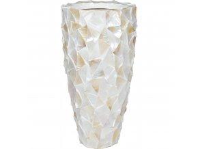 Shell květinový obal White