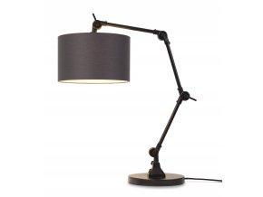 Stolní lampa Amsterdam 3220 různé barvy černá