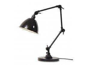 Stolní lampa Amsterdam smaltované stínidlo
