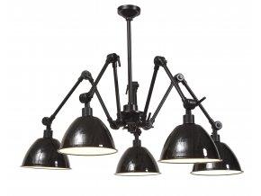 Stropní lampa Amsterdam smaltovaná stínidla