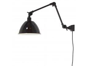 Nástěnná lampa Amsterdam smaltované stínidlo, vel. M