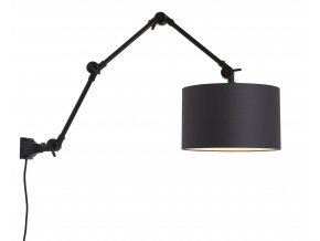 Nástěnná lampa Amsterdam 3220 různé barvy, vel. L černá