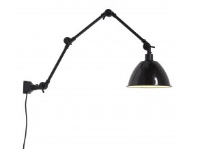 Nástěnná lampa Amsterdam smaltované stínidlo, vel. L