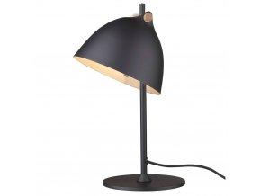 Stolní lampa Århus černá/přírodní