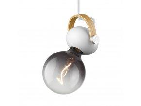 Stropní/nástěnná lampa DC bílá/přírodní