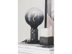 Stolní lampa HALO černá