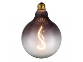 Stmívací žárovka COLORS Soft Light LED G125 kouřová