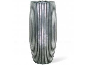 Lines květináč Aluminium