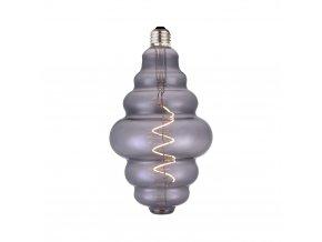 Stmívací žárovka COLORS Rings LED D125 kouřová