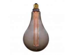 Stmívatelná žárovka Colors Dim LED XL kouřová