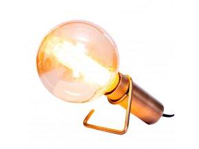 Stolní/nástěnná lampa Hook mosazná