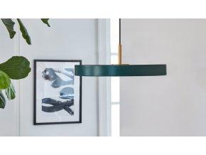 LED Lustr Asteria Mini lesní zelená 3