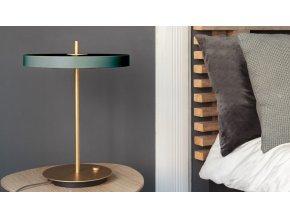 Stolní LED lampa Asteria lesní zelená 2