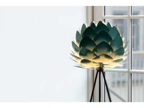 Lustr stojací lampa Aluvia lesní zelená 16