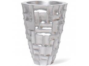 Mosaic květináč Metallic Silver