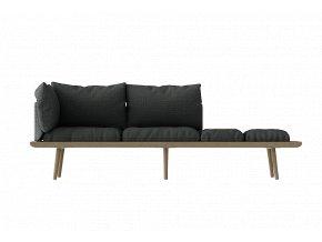 Sofa Lounge Around 3místná - dub