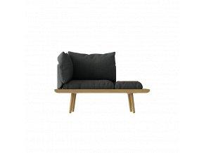 Sofa Lounge Around 1,5místná - dub