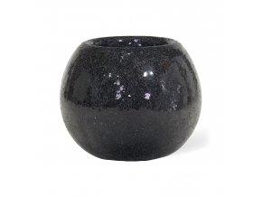 Disco květináč Black