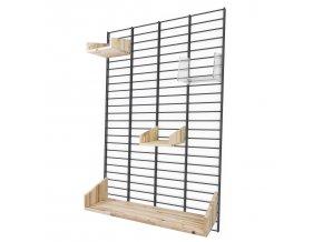 Sada Kitchen - stojan Fency Rack 120 x 80 cm + 4 police
