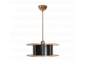 Stropní lampa Spool Hang Basic černá
