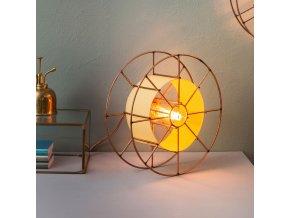 Stojací lampa Spool Floor Basic žlutá