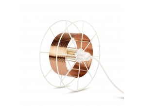 Stojací lampa Spool Floor White Deluxe