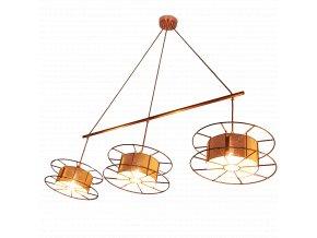 Stropní lampa Spool Triple Basic