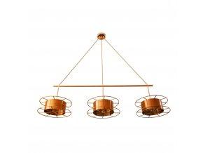 Stropní lampa Spool Triple Basic Deluxe