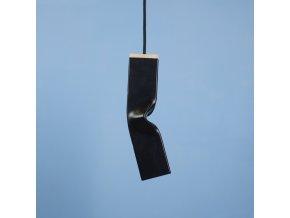 Stropní lampa Bendy Hang černá