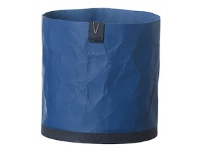 OOhh květináč Cemented Creased Dark Blue