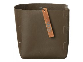 OOhh květináč Soft Pot Dark Brown