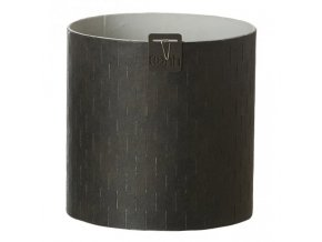 OOhh květináč Paris Cylinder Black