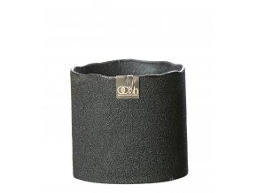 OOhh květináč Cylinder Pot Black