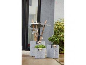 OOhh set květináčů Outdoor Grey 3ks