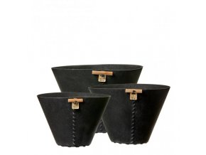 OOhh set 3 nádob Black