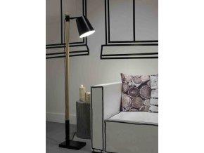 Stojací lampa Sydney černá