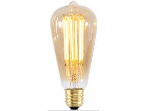 Retro LED žárovka podlouhlá
